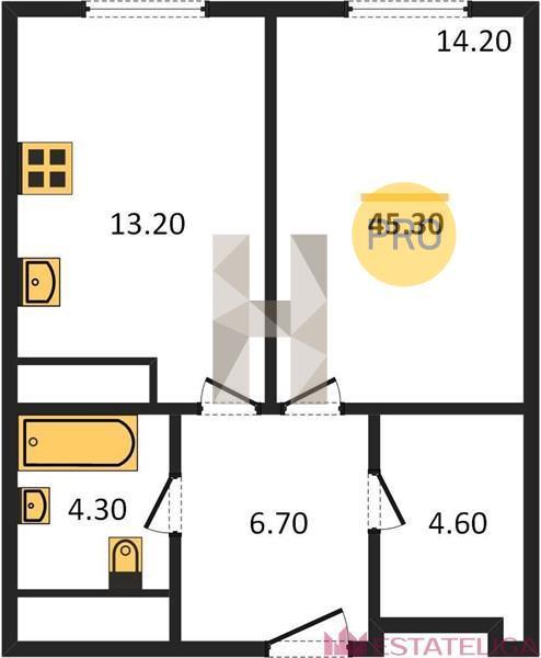 Продажа квартиры ЖК Пресня Сити. Лот 556437