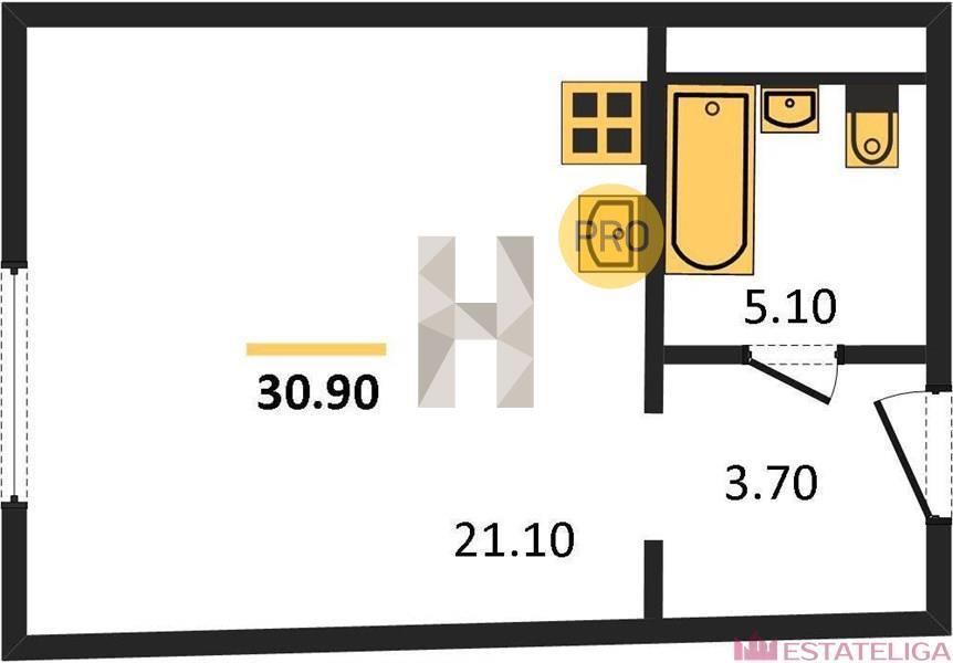 Продажа квартиры МФК Фили Град. Лот 529421