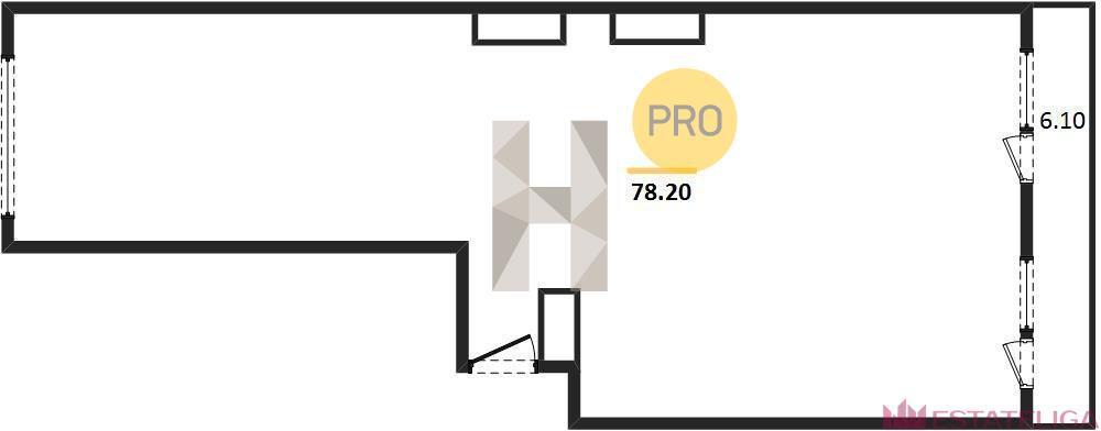 Продажа квартиры ЖК Царская площадь. Лот 733490