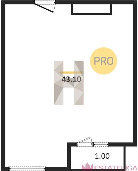 Продажа квартиры ЖК Царская площадь. Лот 733673