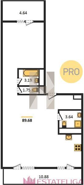 Продажа квартиры ЖК Arco di Sole. Лот 728320