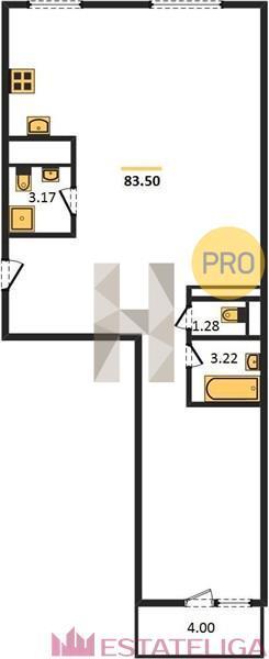 Продажа квартиры ЖК Arco di Sole. Лот 728336