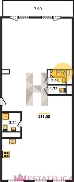 Продажа квартиры ЖК Arco di Sole. Лот 728593