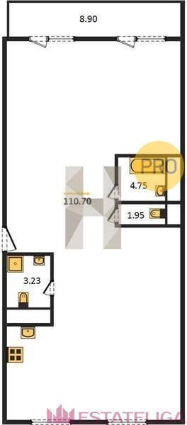 Продажа квартиры ЖК Arco di Sole. Лот 728483
