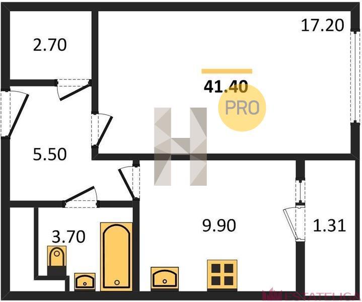 Продажа квартиры ЖК Альфа Центавра. Лот 592288