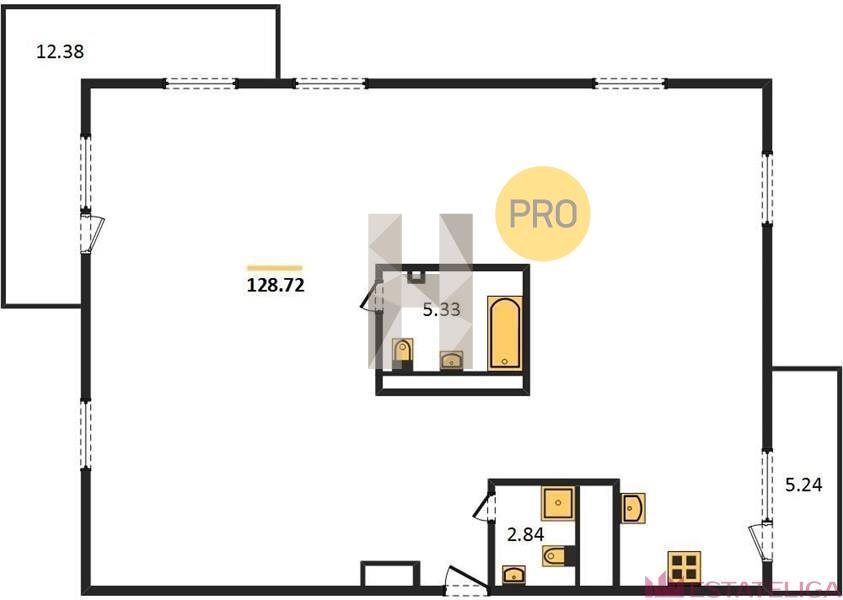 Продажа квартиры ЖК Arco di Sole. Лот 728719