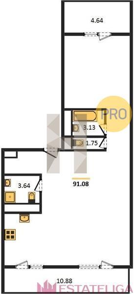 Продажа квартиры ЖК Arco di Sole. Лот 728664